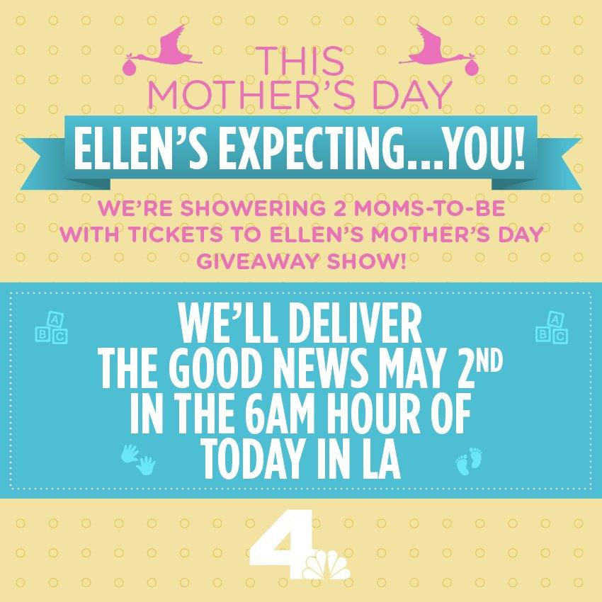 Ellen mothers day giveaways