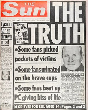 Time to rid the UK of this appalling toilet roll of a newspaper once and for all @TheSun #JFT96 https://t.co/AUsPKfm4xB