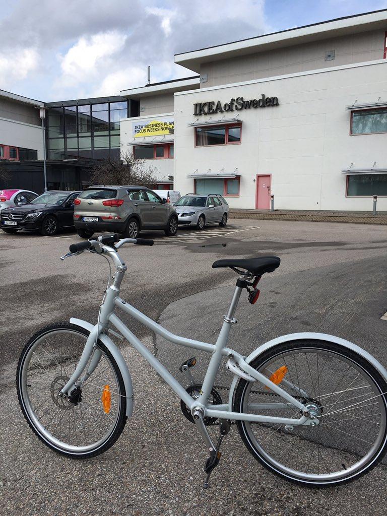 Sladda hashtag on twitter for Ikea sladda bike