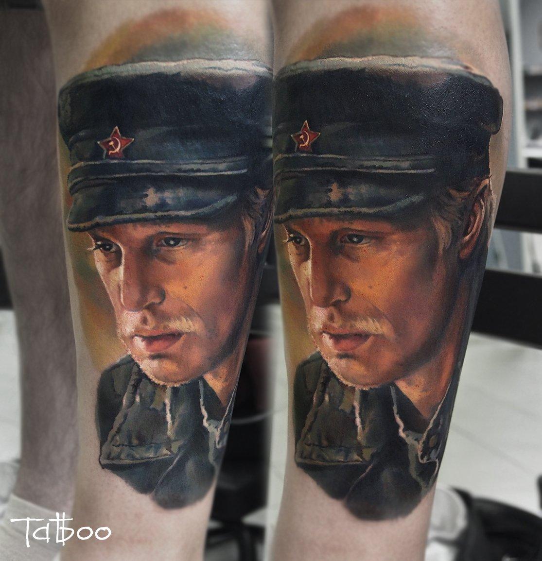 Cg9suLSW0AAxIAG - Tatuagens realistas da russa Valentina Ryabova