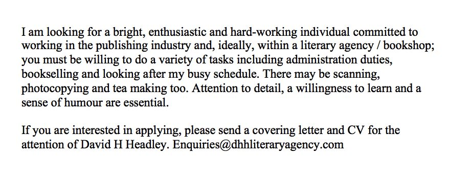 Would you like to work with me? Please see job description below. I am interviewing this week. https://t.co/y1wsnlPtKE