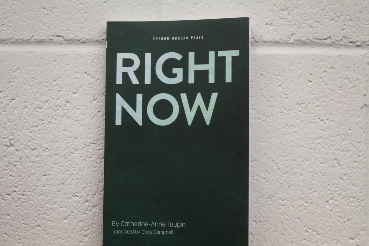 Competition time! Retweet to win a signed #RightNowThePlay script before the show ends 7 May https://t.co/2EjSQ75pzY https://t.co/aduMDliAcp