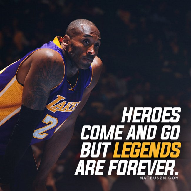 """Kobe Bryant Quotes: Mateusz M On Twitter: """"Legends Never Die. 15 Quotes From"""