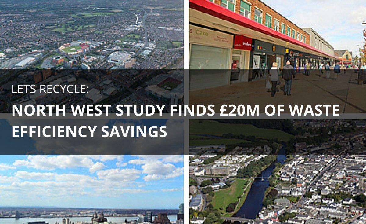 RT @kiverco .@LP_localgov reveal authorities in NW England saved £20m by delivering waste efficiencies - https://t.co/KtrrQlgP9K
