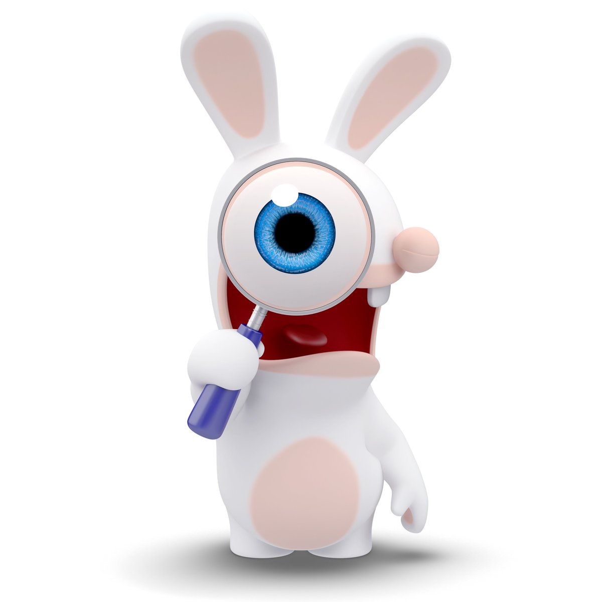 Les lapins cr tins lapinscretins twitter - Lapin cretin image ...