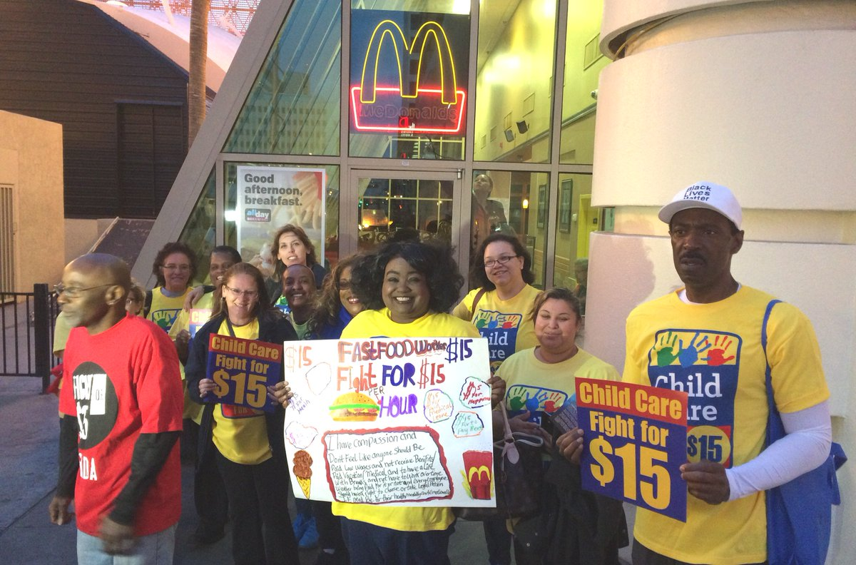 We are all in this together. We #FightFor15 & demand #ChildCareForAll. Let's do this! https://t.co/HISdMfO6P2