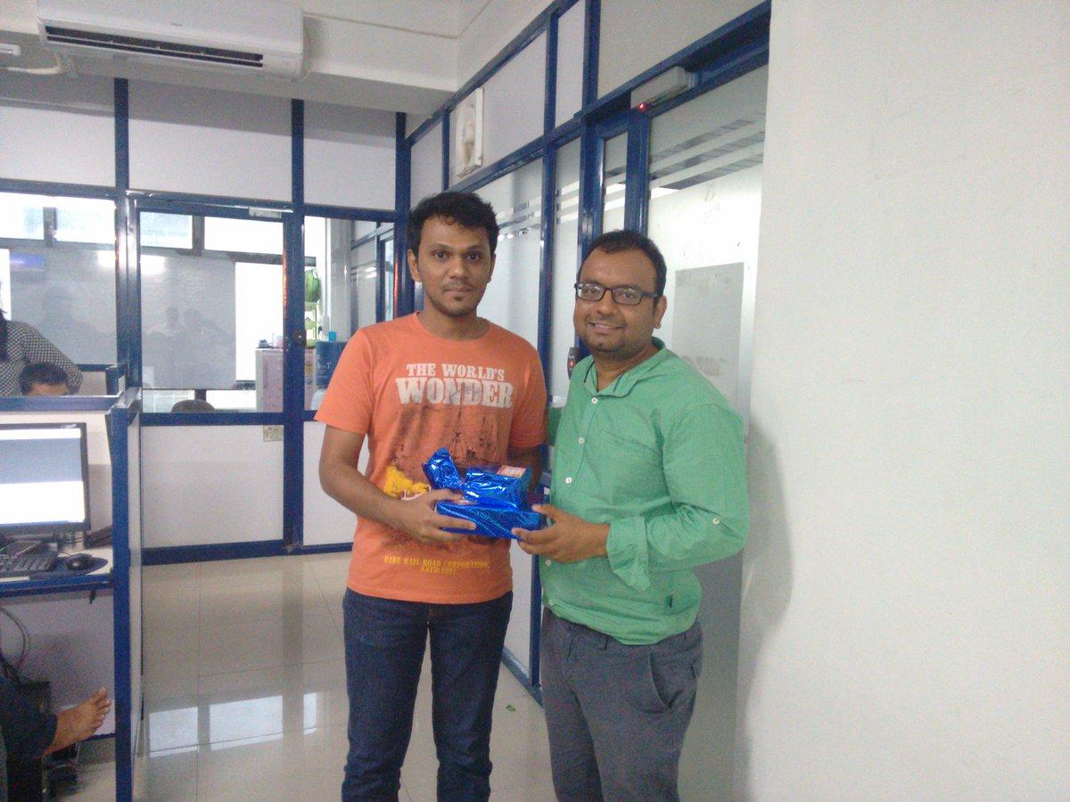 Manan patel with Ketan Raval (CEO - LetsNurture)