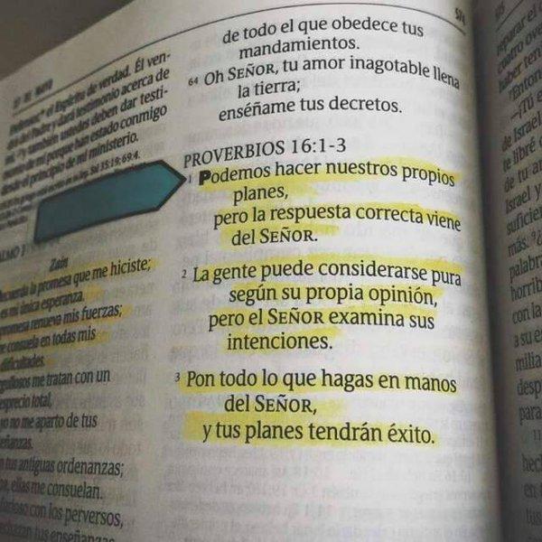 Cuando mis planes no están saliendo como esperaba,es porq los planes de #Dios están trabajando bien #BuenJueves