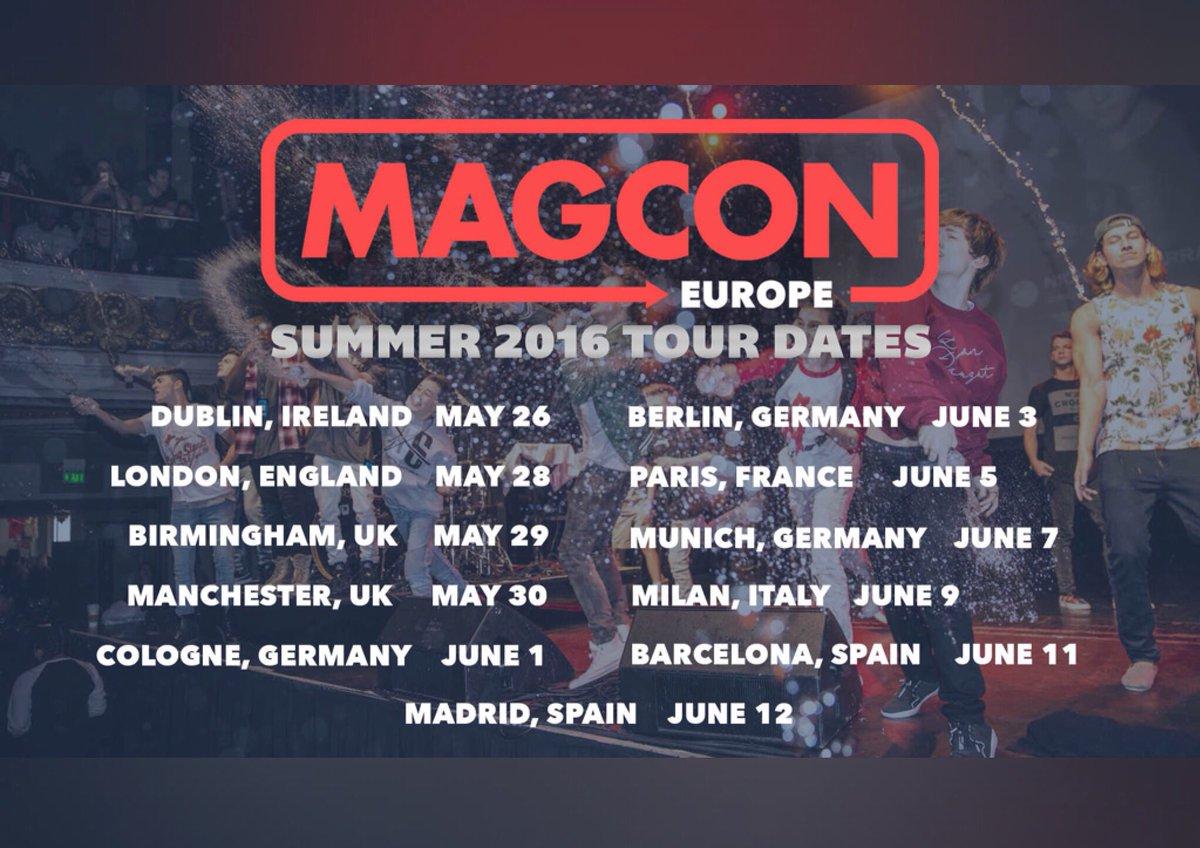 Magcon tour dates in Perth