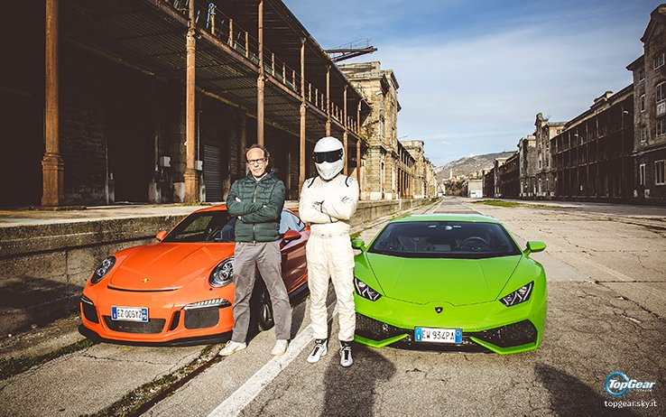 top gear italia on twitter porsche 911 gt3 rs e lamborghini hurac n al. Black Bedroom Furniture Sets. Home Design Ideas