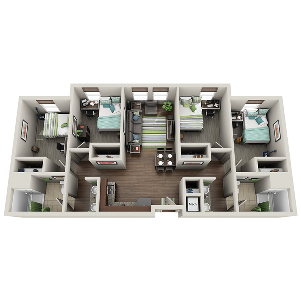 uk housing reslife on twitter the 4 bedroom suite is located in limestone park ii and champions court ii httpstcoducudlr4df - Limestone Apartment 2016
