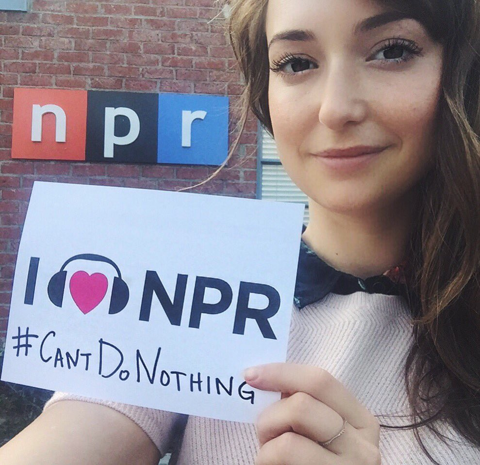 RT @MintMilana: On @PriTheWorld on @NPR talking about #CantDoNothing &my sneaky heart. Go to https://t.co/VGNye3Xu3E to make change! https:…