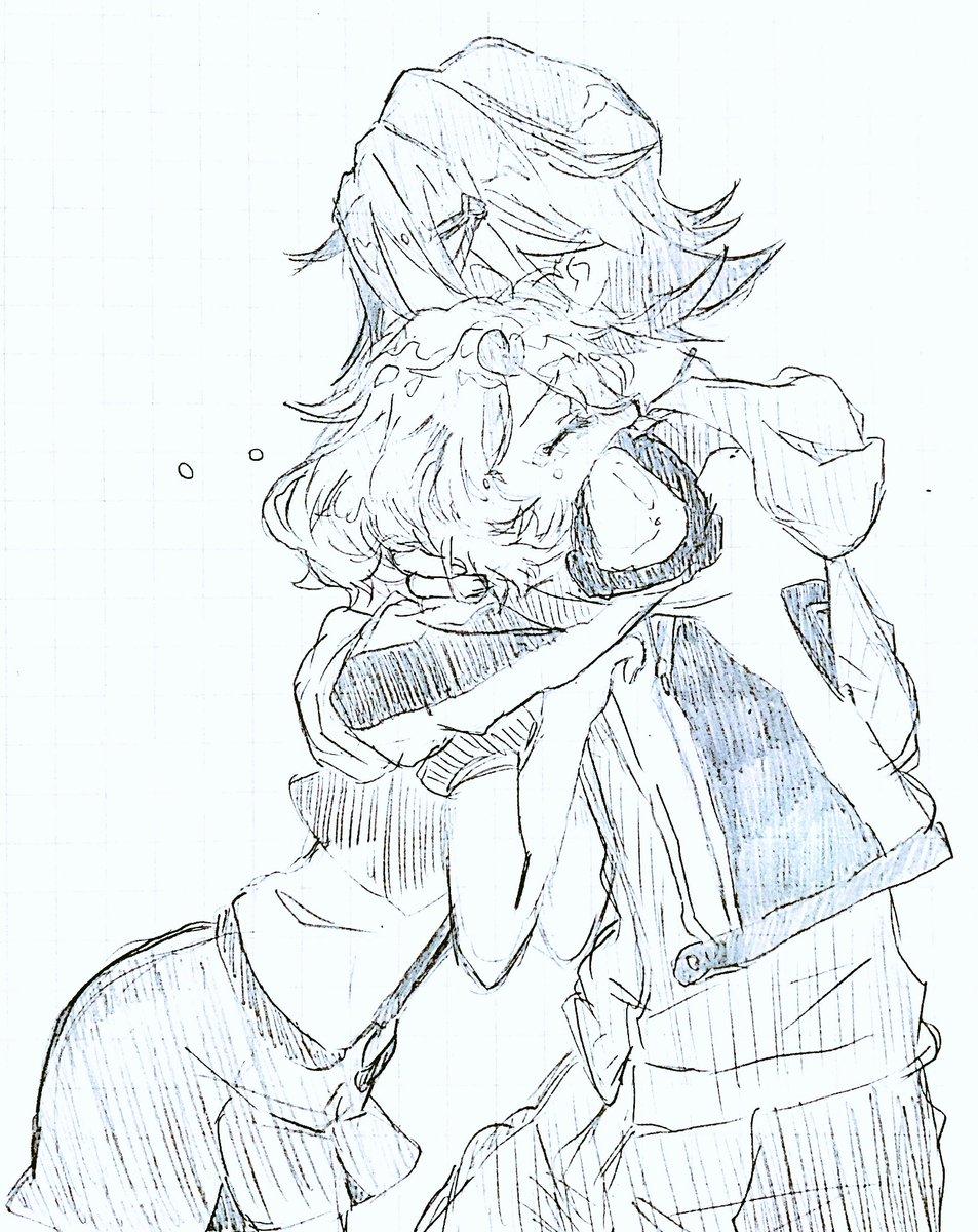 tweet : 【マクロスΔ】「ハヤテ×フレイア」のカップルイラスト・漫画
