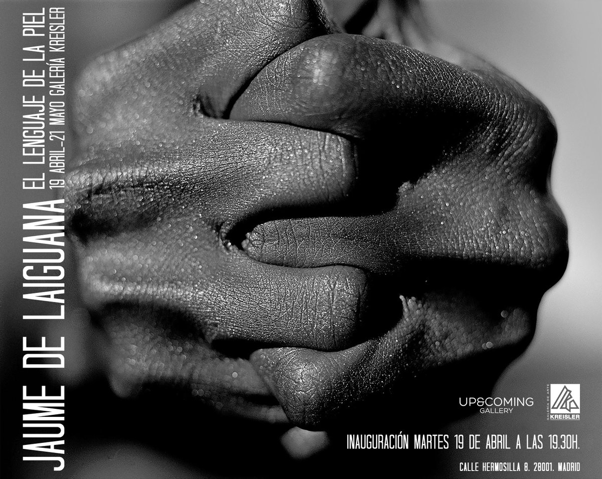 El Lenguaje de la Piel, mi nueva exposición en la @GaleriaKreisler de Madrid. Os espero!