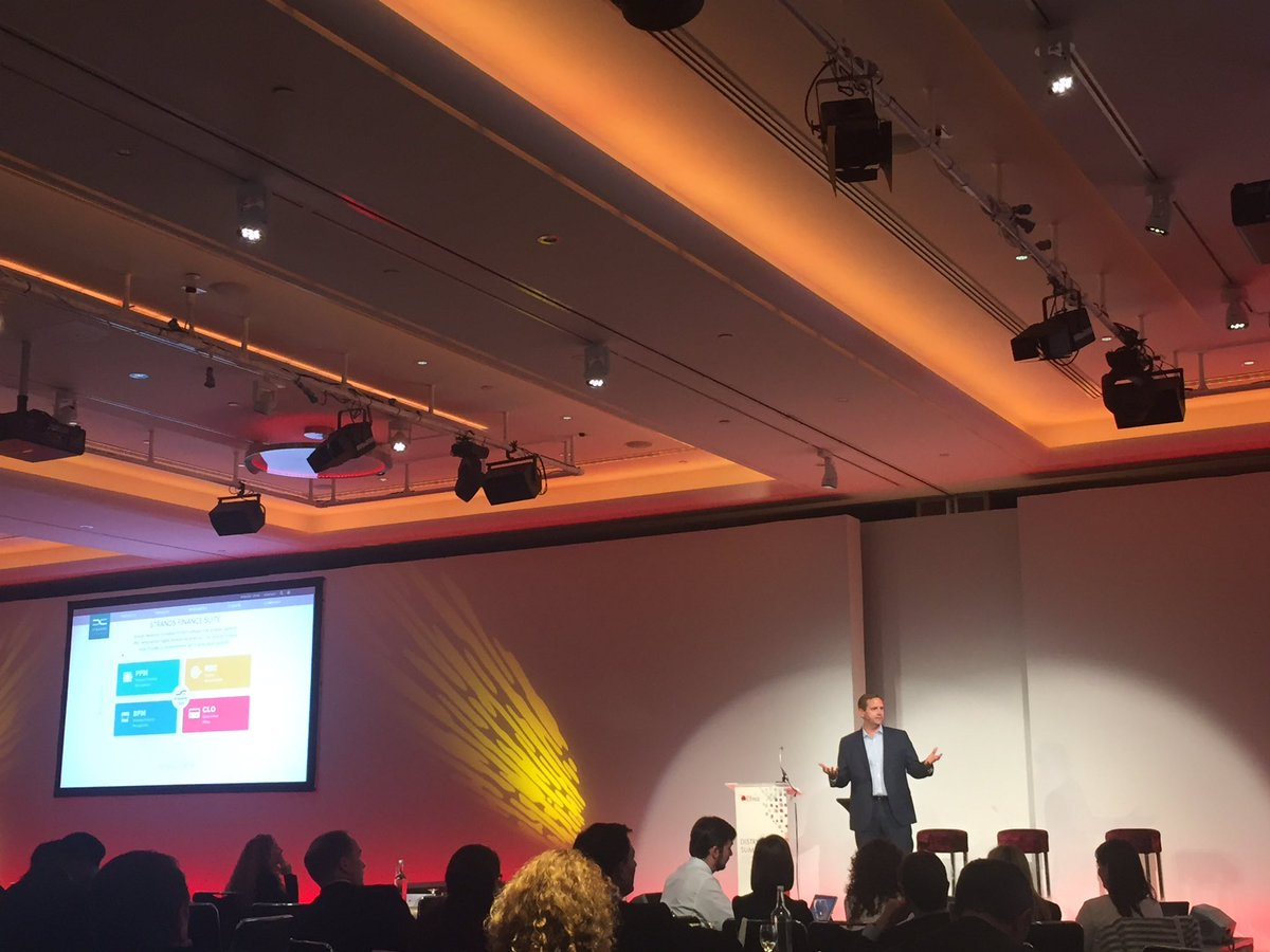 Data monetization makes #DigitalBanking a personal experience, @alwayscesar presents @StrandsFinance Suite #EfmaDS16 https://t.co/wmd3tdbwFT