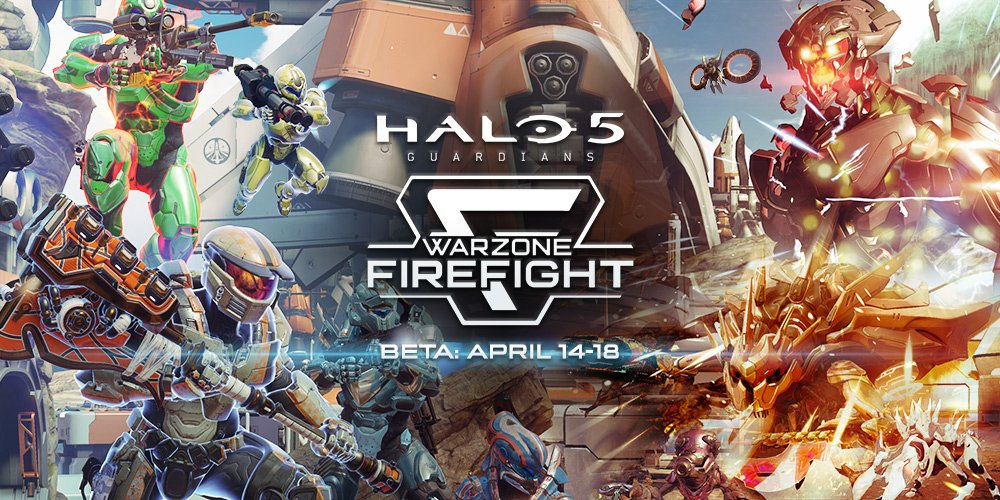 The Warzone Firefight Beta is now live in Halo 5: Guardians. Go, go, go! https://t.co/CB7lSUIQi4