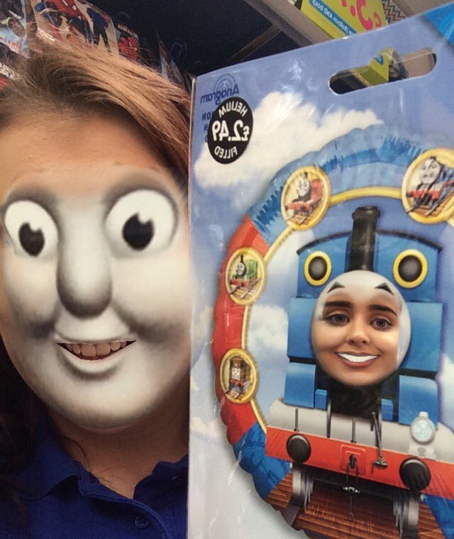 Lauren Shaw On Twitter Crying At This Thomas The Tank Engine Face