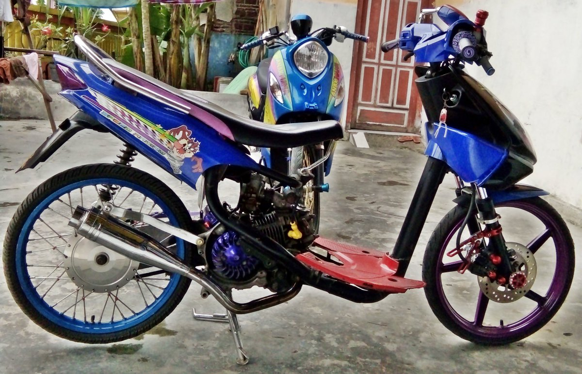 Top modifikasi mio street racing