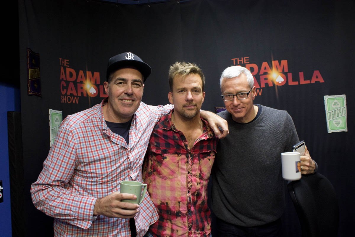 New @adamcarolla and @drdrew Show with guest @seanflanery! Listen now: https://t.co/NhkVP4QCak https://t.co/T8WRElVu6m
