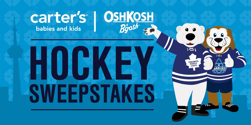 carters sweepstakes you could win marlies season tickets in the carters 3464
