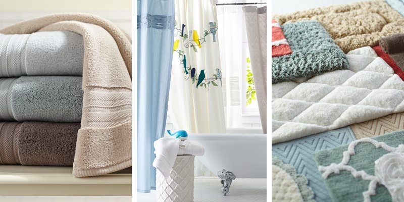 Pier 1 On Twitter Check Out Our New Bath Towels Bath Rugs Shower Curtains Bathroom Storage And More Https T Co Az0pljswoe Https T Co Uqjhhn2ao7