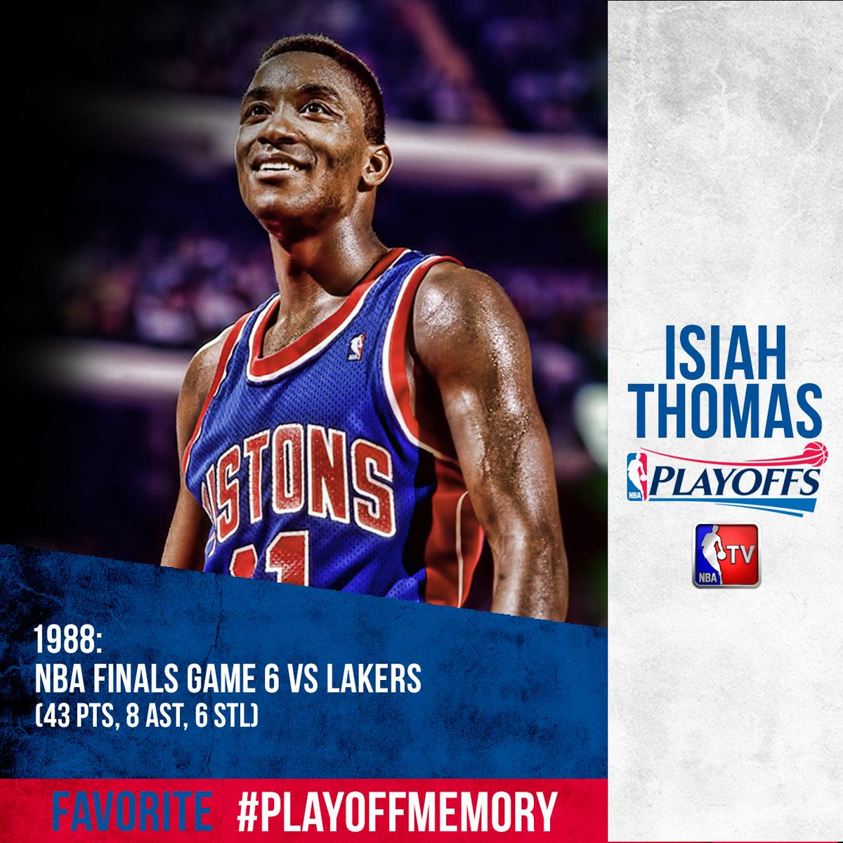 "NBA TV On Twitter: ""In 1988, @iamisiahthomas Had One Of"