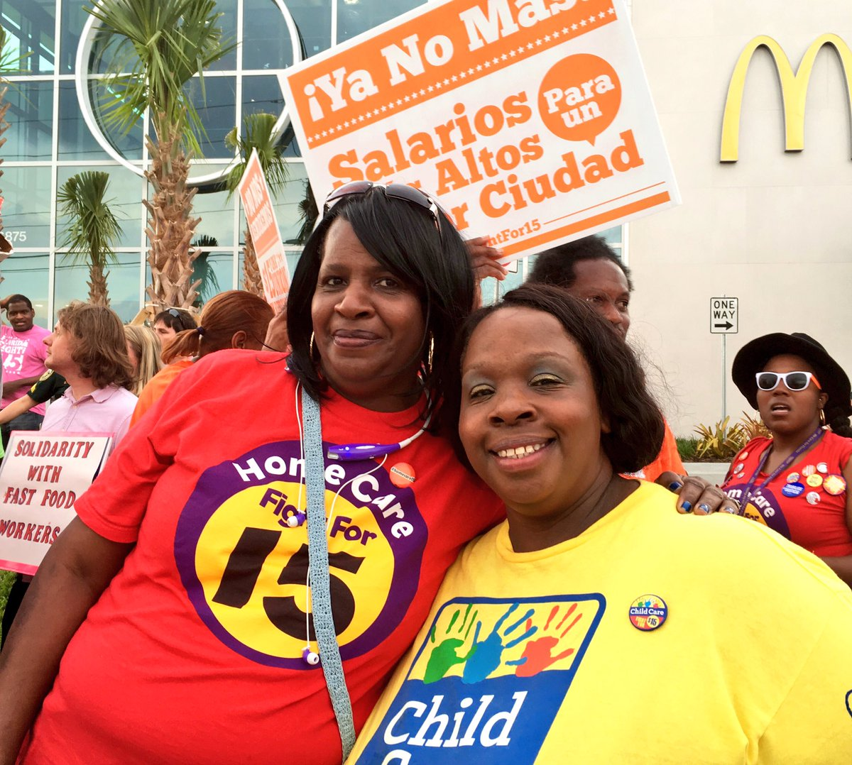 #Homecare & childcare workers in Florida are fighting for a better future for everybody #FightFor15 #ChildCareForAll https://t.co/GEplz6P9gJ