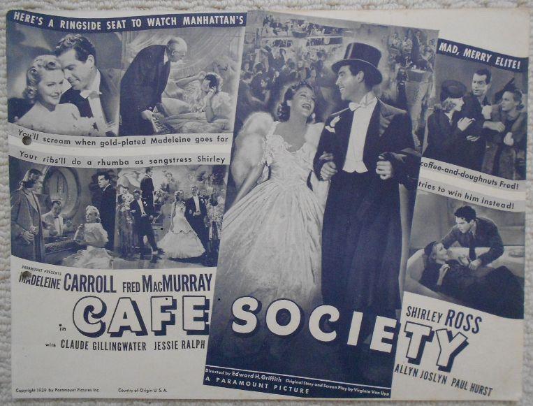 Woody Allen's CAFE SOCIETY opens in NYC on July 15. https://t.co/FbYOlzLAPK