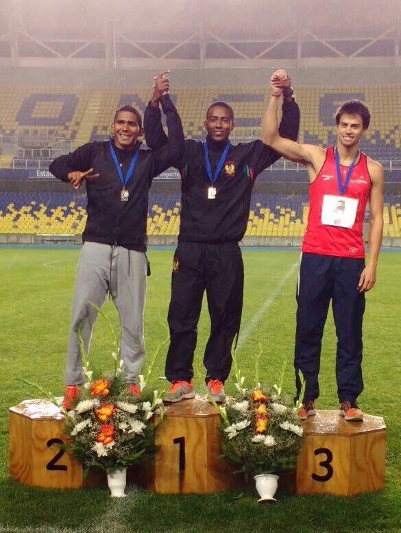 Militar Colombiano, obtiene seis medallas de oro.