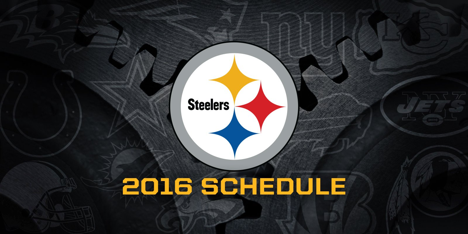 Steelers 2016 Regular Season Schedule