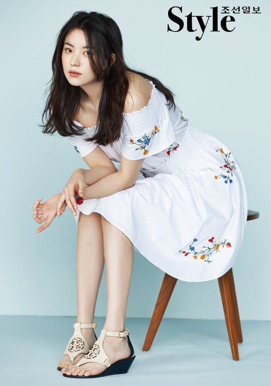 Photoshoot Actress Han Hyo Joo For Korean Style