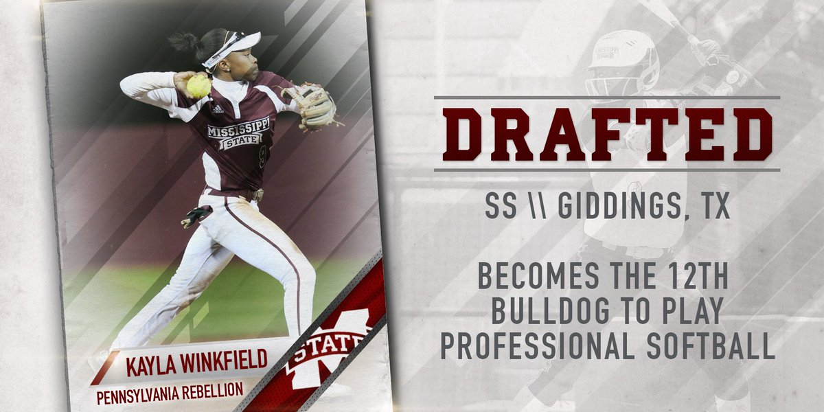 With the 35th pick in the #NPFDraft2016, the @PaRebellion select our very own @KaylaCamille9!  #HailState https://t.co/3o0apsExuL