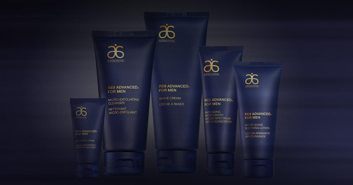 Introducing the new RE9 Advanced for Men: because skincare is just as important to the men. #Arbonne https://t.co/Wg3jq5LNQz
