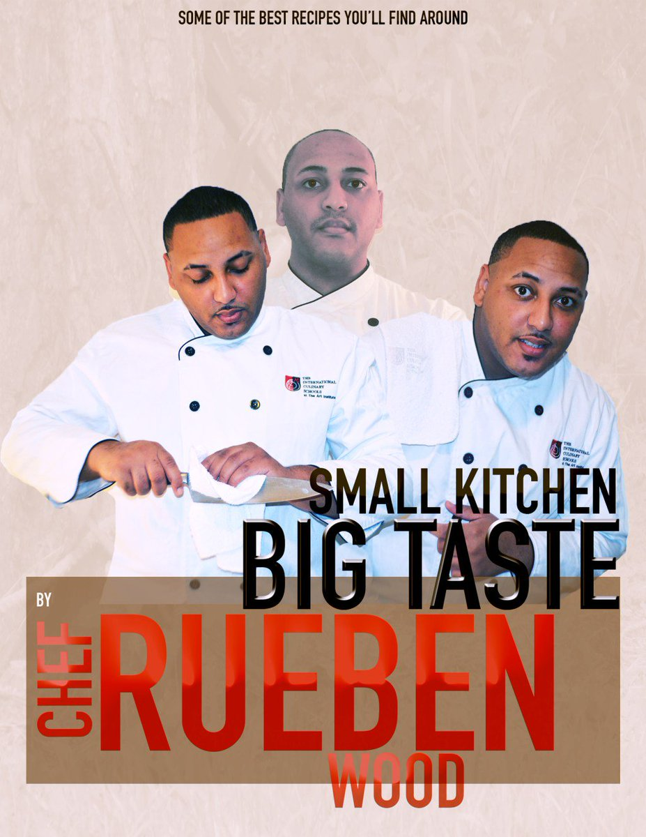 "rueben wood on twitter: ""small kitchen big taste official cover"