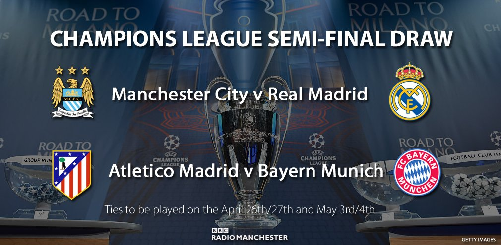 semi final champions league draw