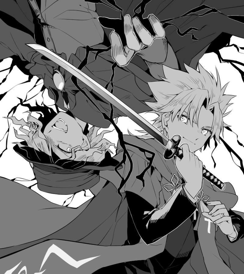 復讐鬼VS聖人 #FateGO