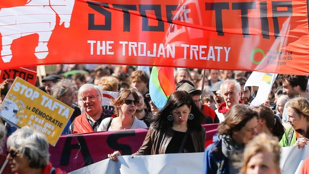 the people do not like TTIP but when did public opinion matter to the Euronazi Brueaucrats of Brussels?