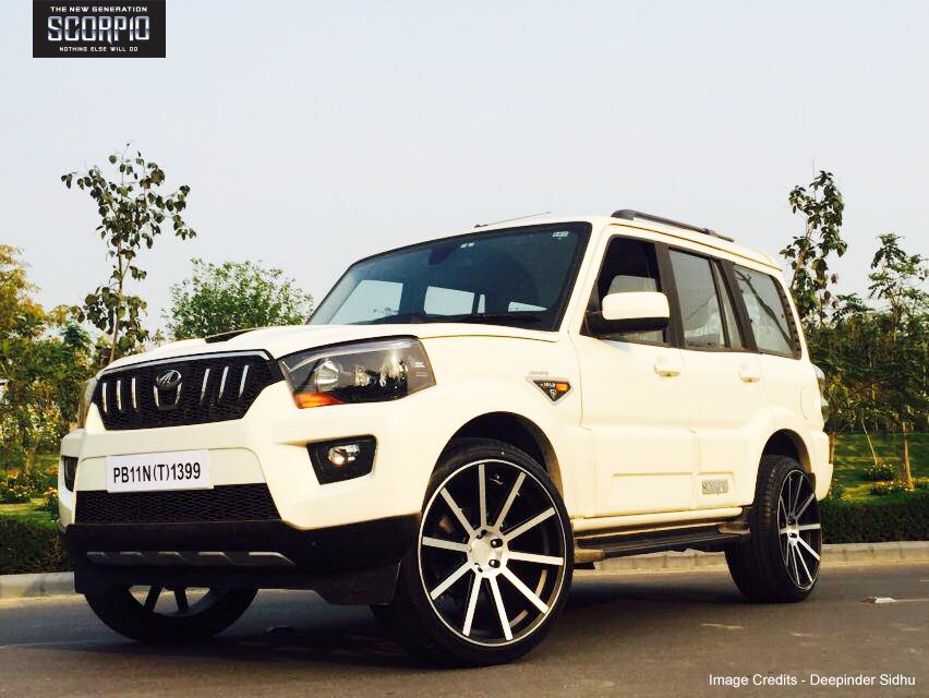 mahindra scorpio on twitter deepinder sidhu has added a personal touch to his newgenscorpio. Black Bedroom Furniture Sets. Home Design Ideas