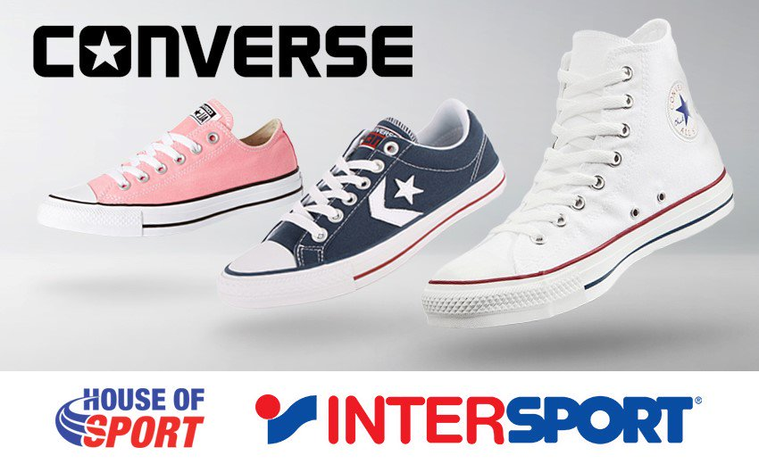basket converse chez intersport