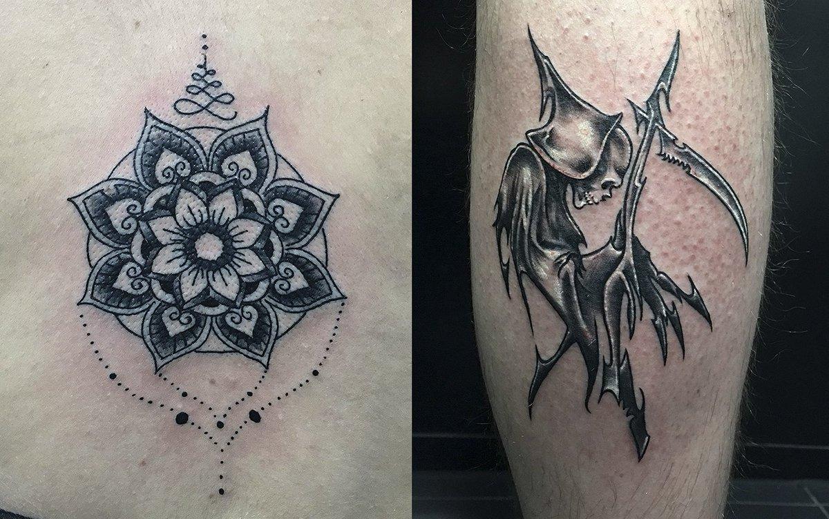 Pura Vida Tatuajes On Twitter Tattoo By At Cesarrbtattoo Mandala