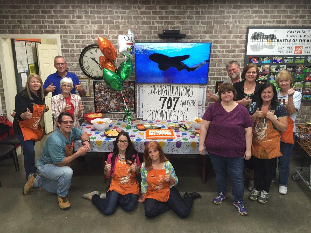Jeff Copeland On Twitter Home Depot Murfreesboro Tn Celebrates 20