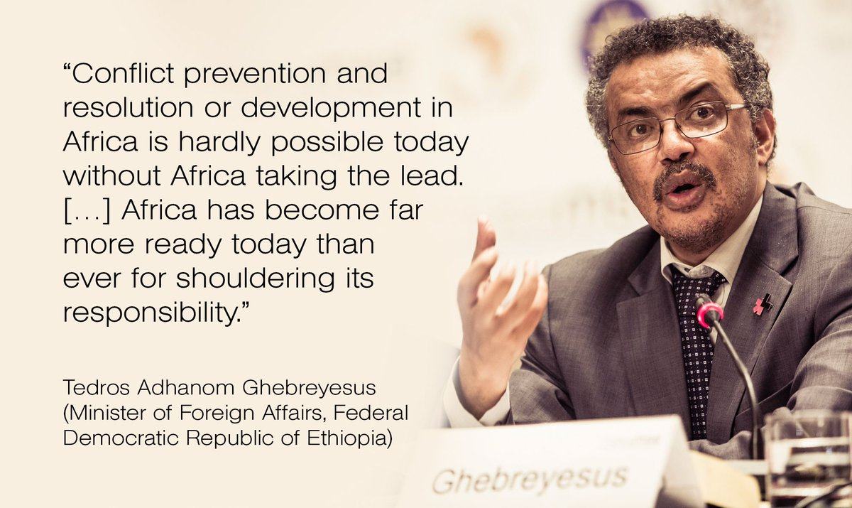 """Africa has become far more ready today than ever for shouldering its responsibility"" - @DrTedros at #MSCaddis https://t.co/biyxLhXBJz"