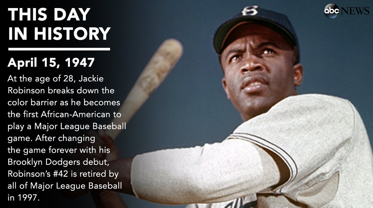 jackie robinson the first african american athlete who broke the color barrier in baseball