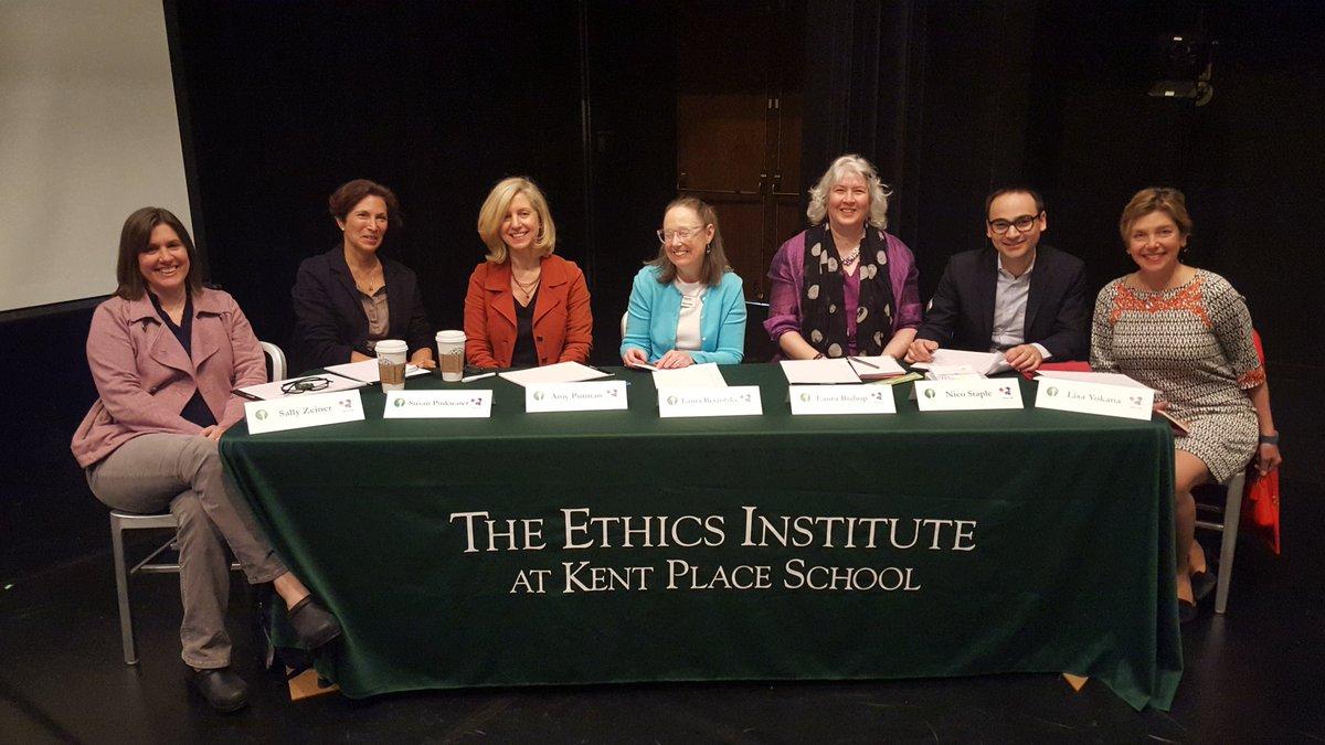 Ethics in Action Summit-great crew of judges! @Heifer @EthicsLab @kentplaceschool @pinkwaterputman @TrinityHallNJ https://t.co/yj7Tlfv7mw