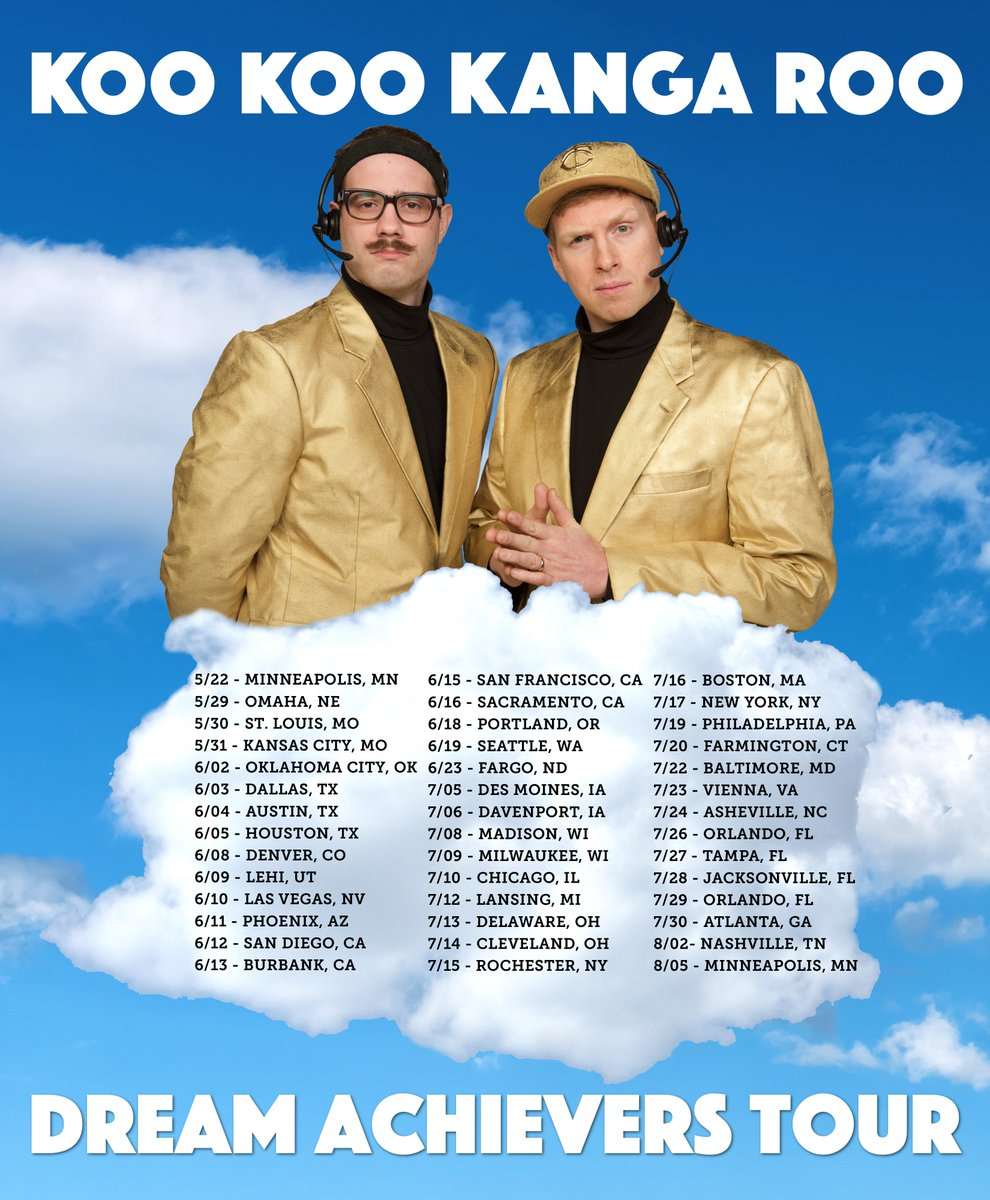 Last night we announced our summer tour! If you RETWEET this we will hug you. https://t.co/OonVZQU3Le https://t.co/0mx7ZxoGGm