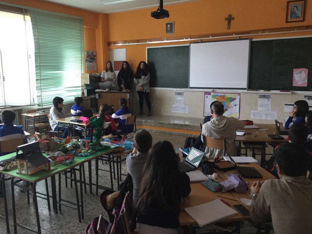 Los alumnos de ESO y 5 de EP nos hablan de los intercambios #SGLab del @colsangregorio cc @julisanzmamolar https://t.co/QQVwv5jOvs
