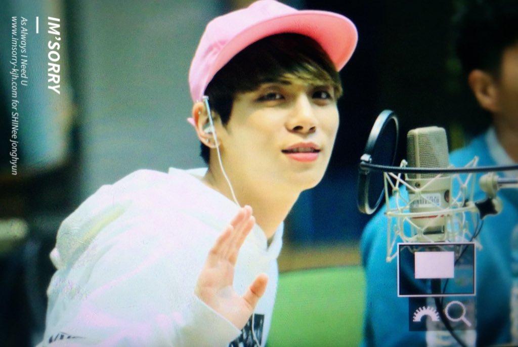 160415 Jonghyun @ MBC Blue Night CgGA69qUUAAh8U9