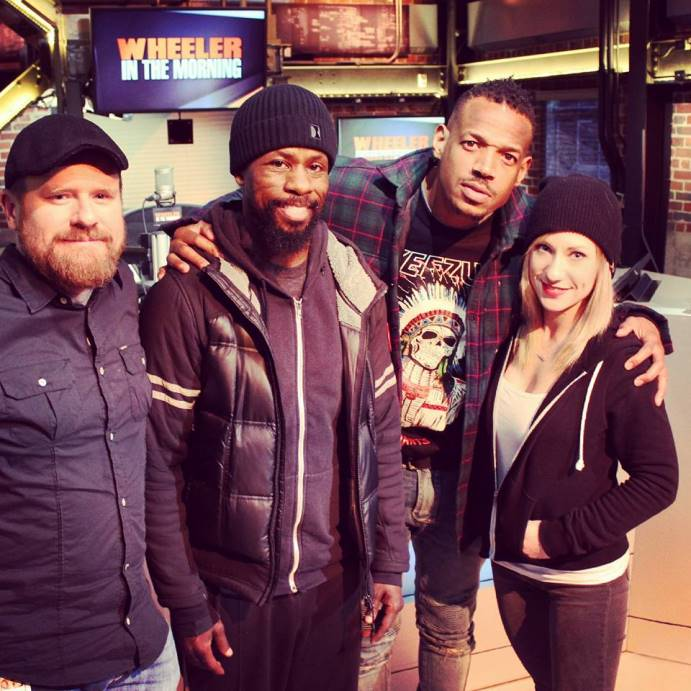 Rena Jae On Twitter MarlonWayans Dropped By 92citifm Today He