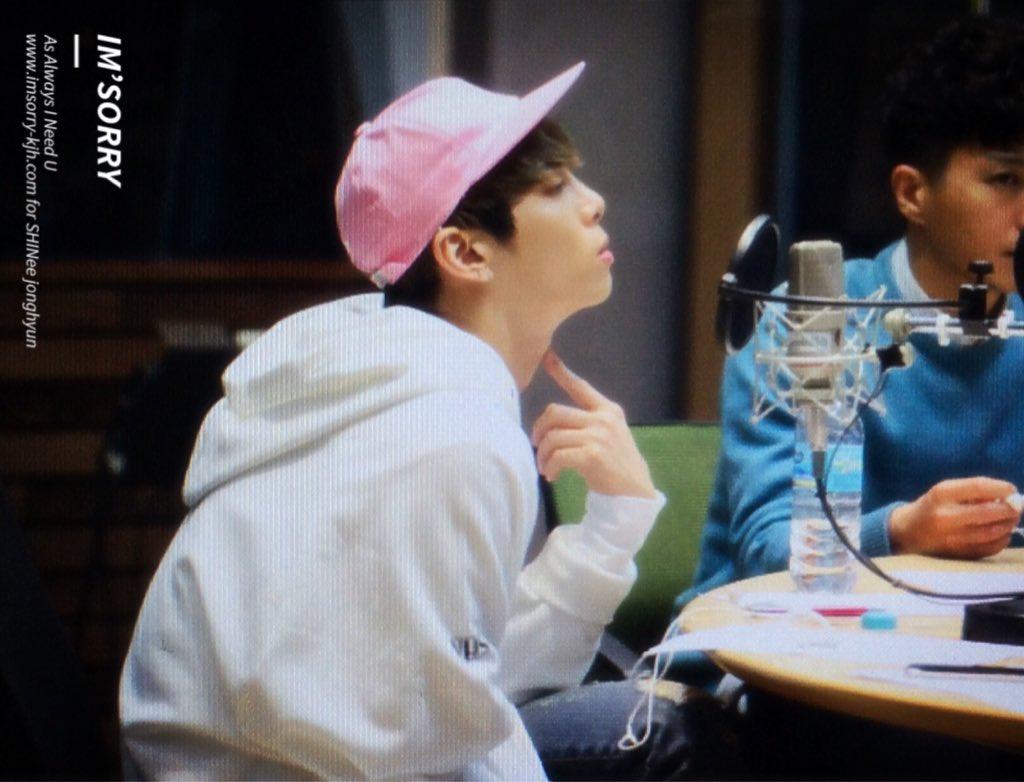 160415 Jonghyun @ MBC Blue Night CgGKeVeUUAEwcgO