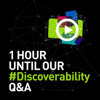 We are having an interview with @JeremySinger in English at 2pm. Follow #Discoverability for the conversation. https://t.co/2a7ziC5csK